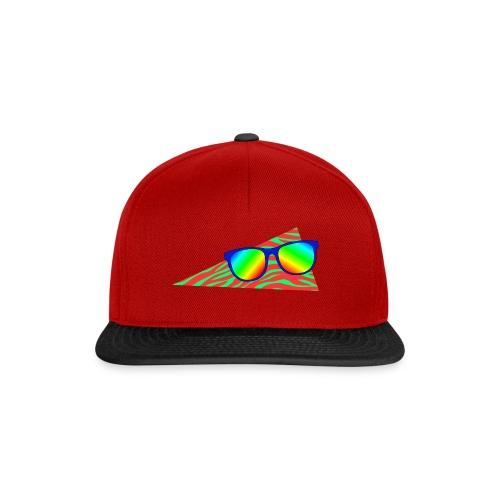 Snapback-caps - zebra,regnbue,neon,Solbriller,80s,80-tallet,80's