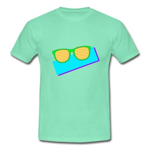 T-skjorte for menn - solbriller,80s,80-tallet,80's