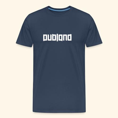 Dubland Brother, White Logo - Premium-T-shirt herr