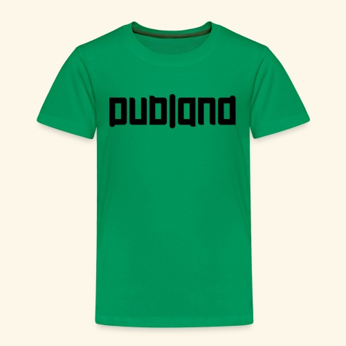 Dubland Kids, Black Logo - Premium-T-shirt barn