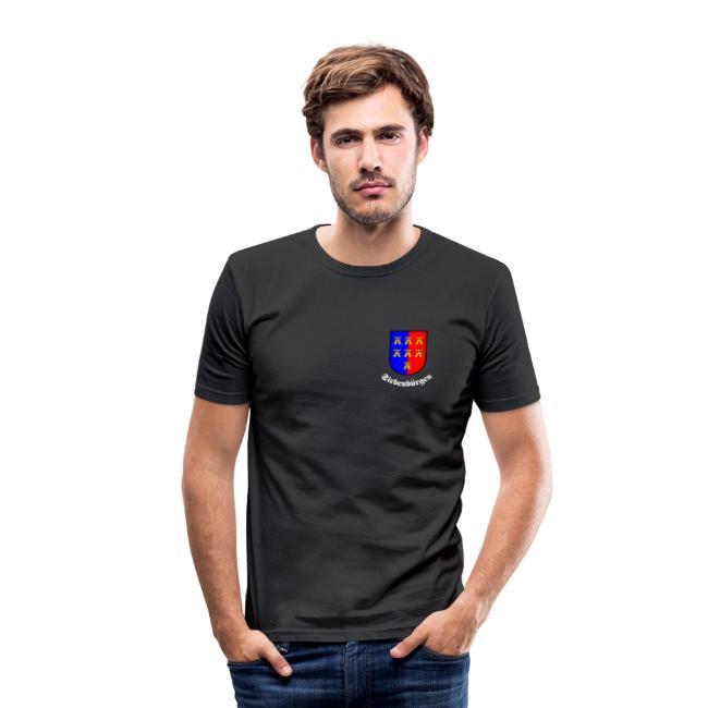TShirt mit kleinem Sachsen-Wappen auf der Brust