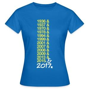 Ici c'est Montferrand - Version 2017 (F) - T-shirt Femme