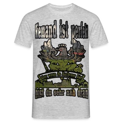 Niemand ist Perfekt Old Tivoli - Männer T-Shirt
