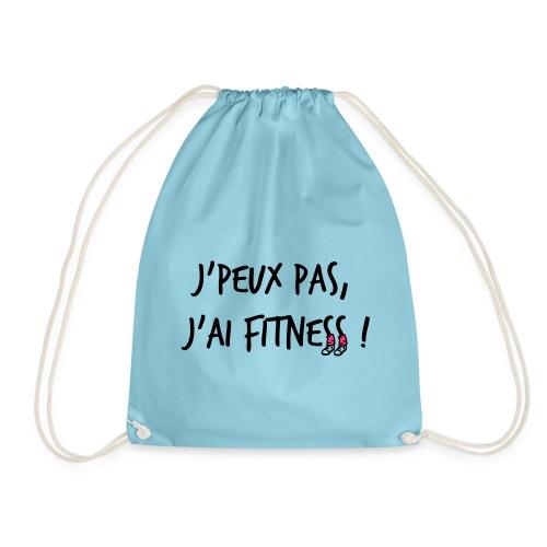 Sac de sport, J'peux pas j'ai fitness - idée de cadeau pour la Fête de mères - Sac de sport léger