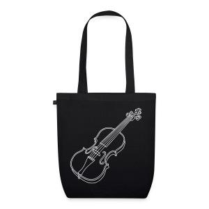 Violine  / Geige - Bio-Stoffbeutel