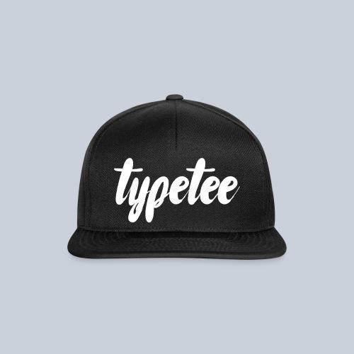 Cap- TypeTee - Snapback cap