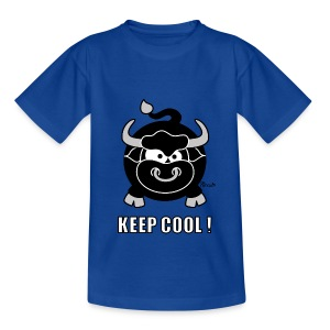 T-shirt BC Enfant, Taureau, Bull, Keep Cool - T-shirt Enfant