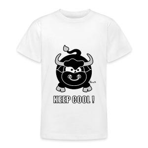 T-shirt BC Ado, Taureau, Bull, Keep Cool - T-shirt Ado