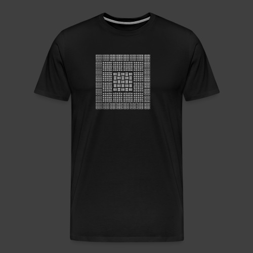 The order of the 3 - Men's Premium T-Shirt