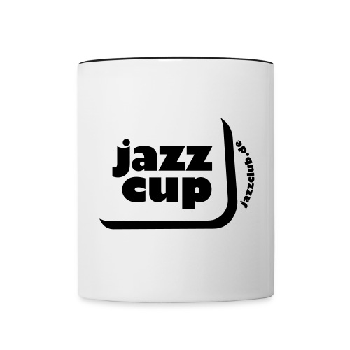 die Jazzclub-Tasse - Tasse zweifarbig