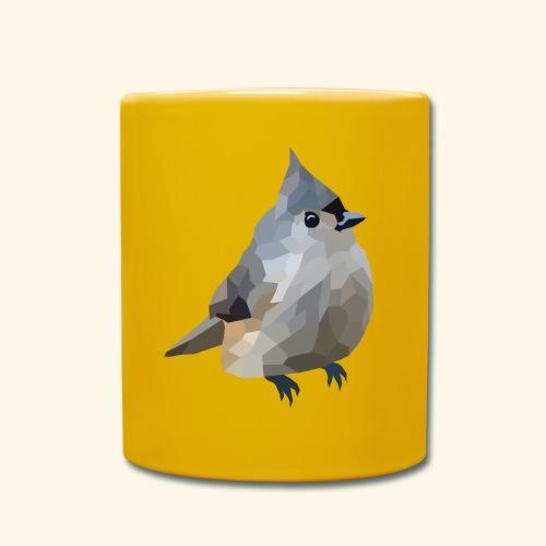 Polygon Art: Tufted Titmouse Tassen & Zubehör - Tasse einfarbig