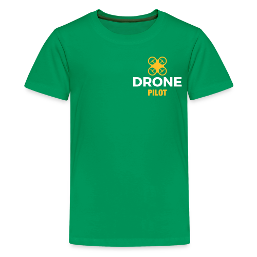 T-shirt: Making Aerial Footage (teen) | Green - Teenager Premium T-shirt