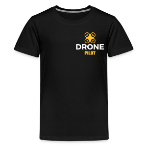 T-shirt: Making Aerial Footage (teen) | Black - Teenager Premium T-shirt