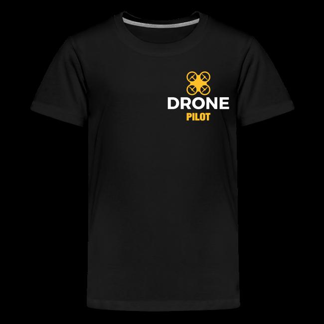 T-shirt: Making Aerial Footage (teen) | Black