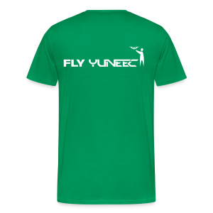 T-shirt: Fly Yuneec (men) | Green - Mannen Premium T-shirt