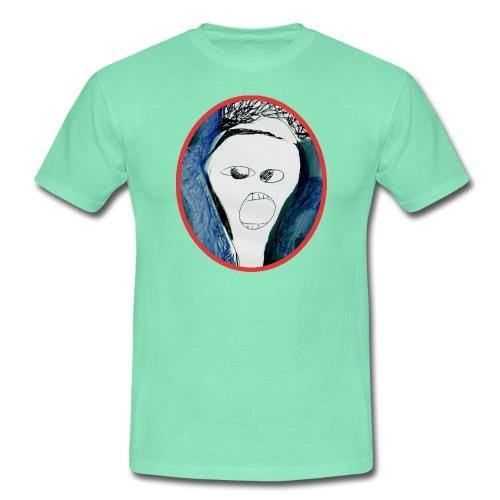 Der Schrei / anders - Männer T-Shirt