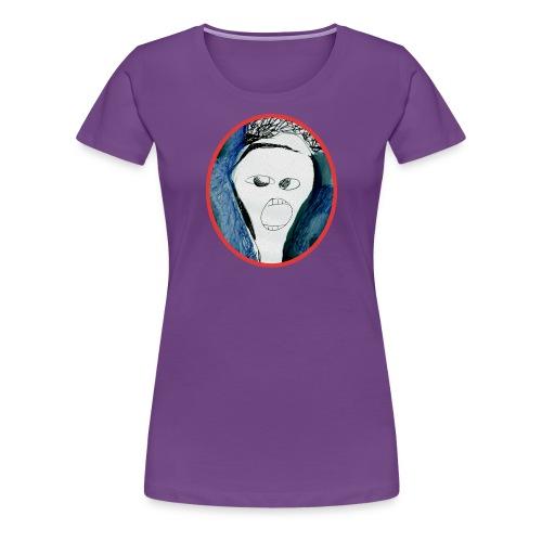 Der Schrei / anders - Frauen Premium T-Shirt