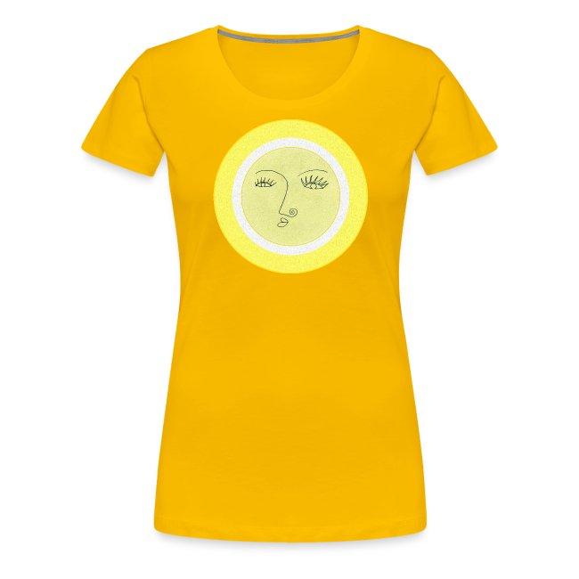Sonne - Gesicht