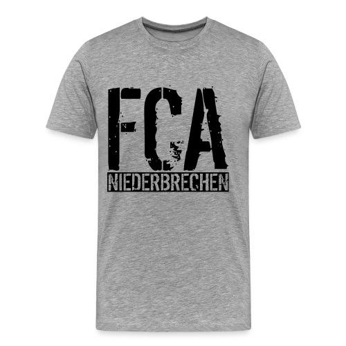 Premium Herren T-Shirt Schriftzug II - Männer Premium T-Shirt