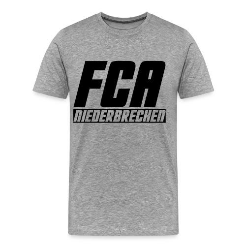 Premium Herren T-Shirt Schriftzug I - Männer Premium T-Shirt