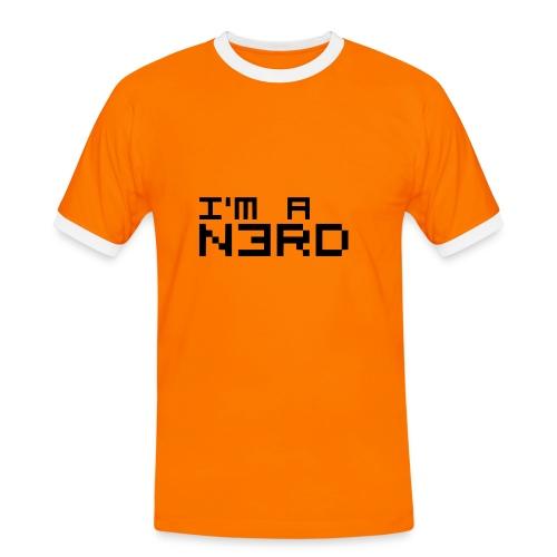 I AM A N3RD - Männer Kontrast-T-Shirt