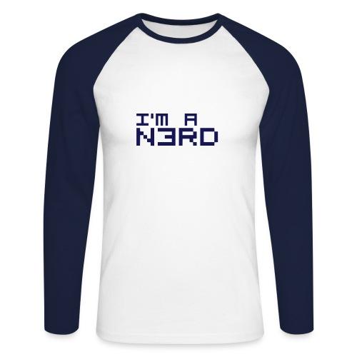 I AM A N3RD - Männer Baseballshirt langarm