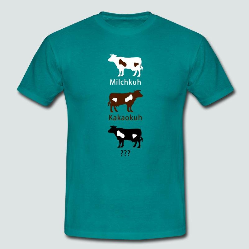Michkuh - Kakaokuh - ... - Männer T-Shirt