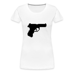 Kill All Pixels! (W) - Vrouwen Premium T-shirt