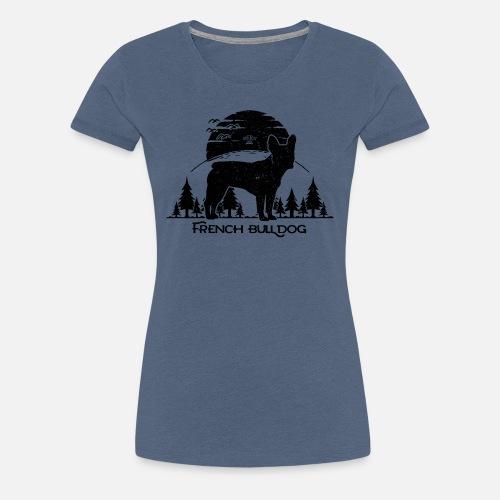 French Bulldog Forest - Frauen Premium T-Shirt - Frauen Premium T-Shirt
