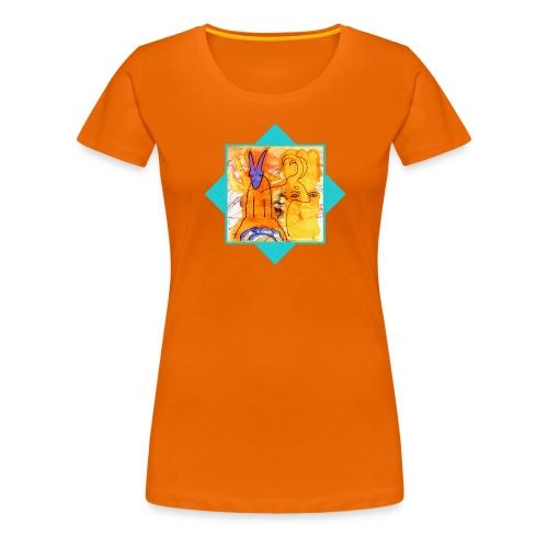 Sternzeichen - Steinbock - Frauen Premium T-Shirt