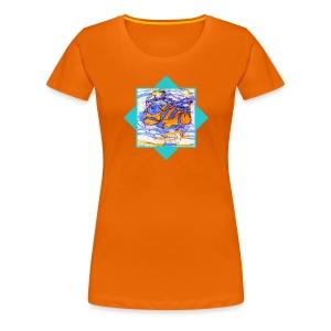 Sternzeichen - Fische - Frauen Premium T-Shirt