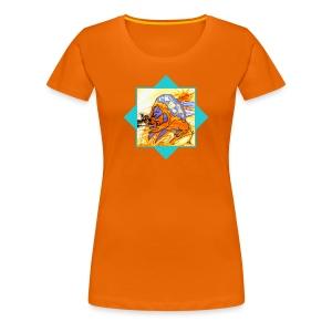 Sternzeichen - Löwe - Frauen Premium T-Shirt