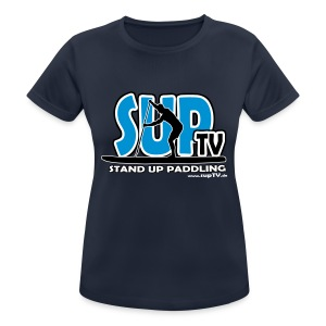 Franzis FrauenT-Shirt atmungsaktiv: SUP TV - Stand UP Paddling - Women's Breathable T-Shirt