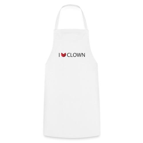 Delantal I love Clown - Delantal de cocina