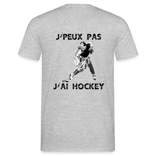 je peux pas j'ai hockey-6 - T-shirt Homme