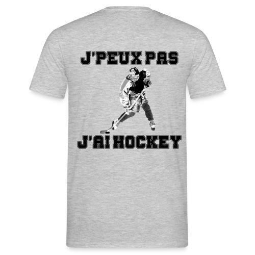 je peux pas j'ai hockey-4 - T-shirt Homme