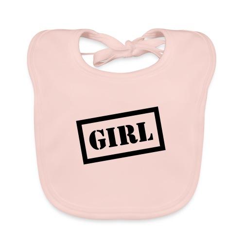 Slabbetje Girl - Bio-slabbetje voor baby's