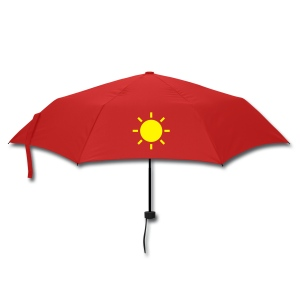 Umbrella 3: Silver Lining (Red/Yellow) - Umbrella (small)