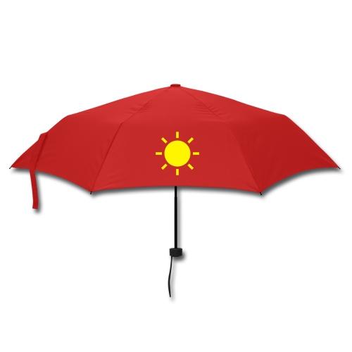 Umbrella 3: Silver Lining (Red/Yellow) - Umbrella (small)
