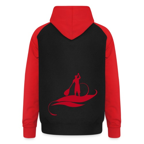 Red To Red Modele - Sweat-shirt baseball unisexe