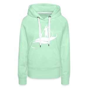 Mint Model - Sweat-shirt à capuche Premium pour femmes