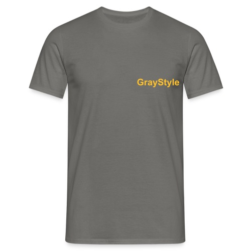 Graystyle  - Men's T-Shirt