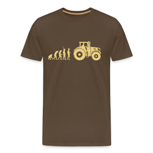 Evolution Traktor Shirt - Männer Premium T-Shirt
