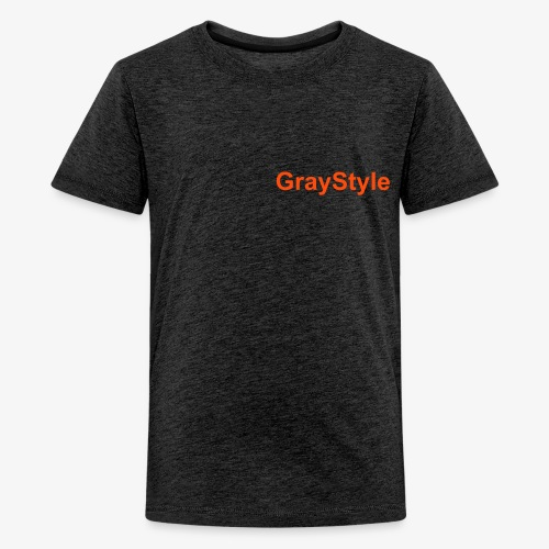 GrayStyle T Shirt - Teenager Premium T-Shirt