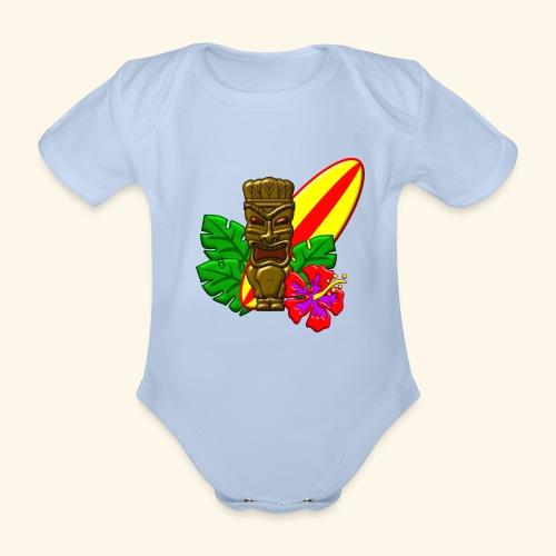 Aloha - Organic Short-sleeved Baby Bodysuit