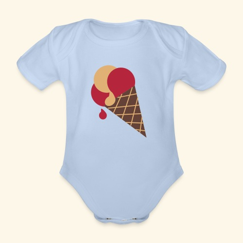 Delicious - Organic Short-sleeved Baby Bodysuit