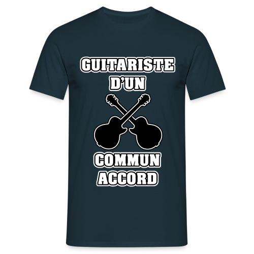 GUITARISTE D'UN COMMUN ACCORD - JEUX DE MOTS - FRANCOIS VILLE - T-shirt Homme