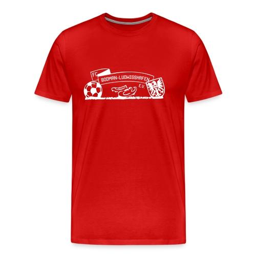 Männer-T-Shirt Wappen rot - Männer Premium T-Shirt