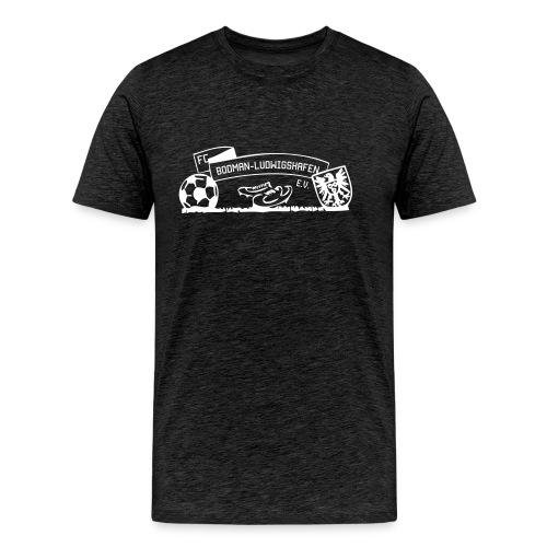 Männer-T-Shirt Wappen anthrazit - Männer Premium T-Shirt
