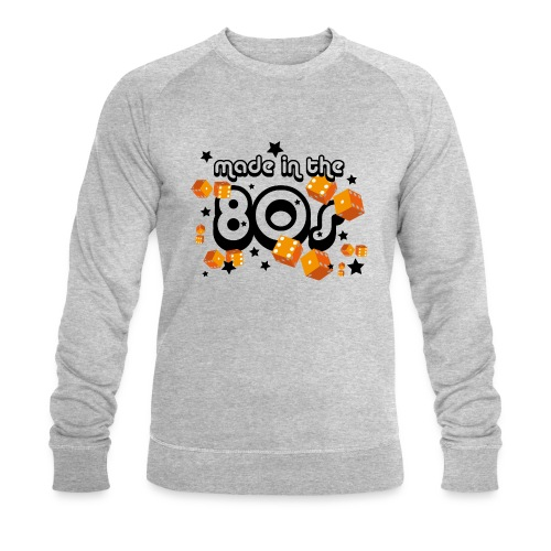 Sweatshirt – Made in the 80s (Kerle) - Männer Bio-Sweatshirt von Stanley & Stella